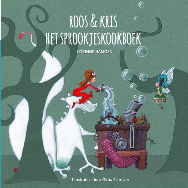 Roos en Kris - sprookjeskookboek - Corine Hamoen