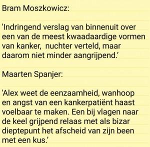recensie Alex Moorlag