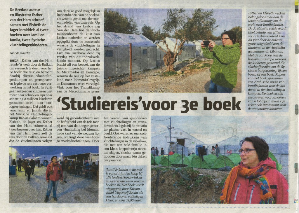 Esther in het stadsblad