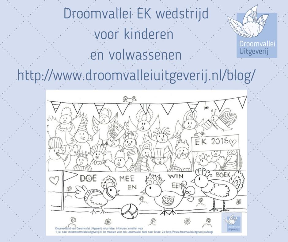 Droomvallei EK kleur wedstrijd voor kinderen en volwassenen