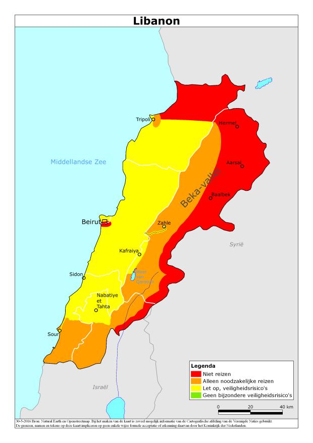 Reisadvies Libanon