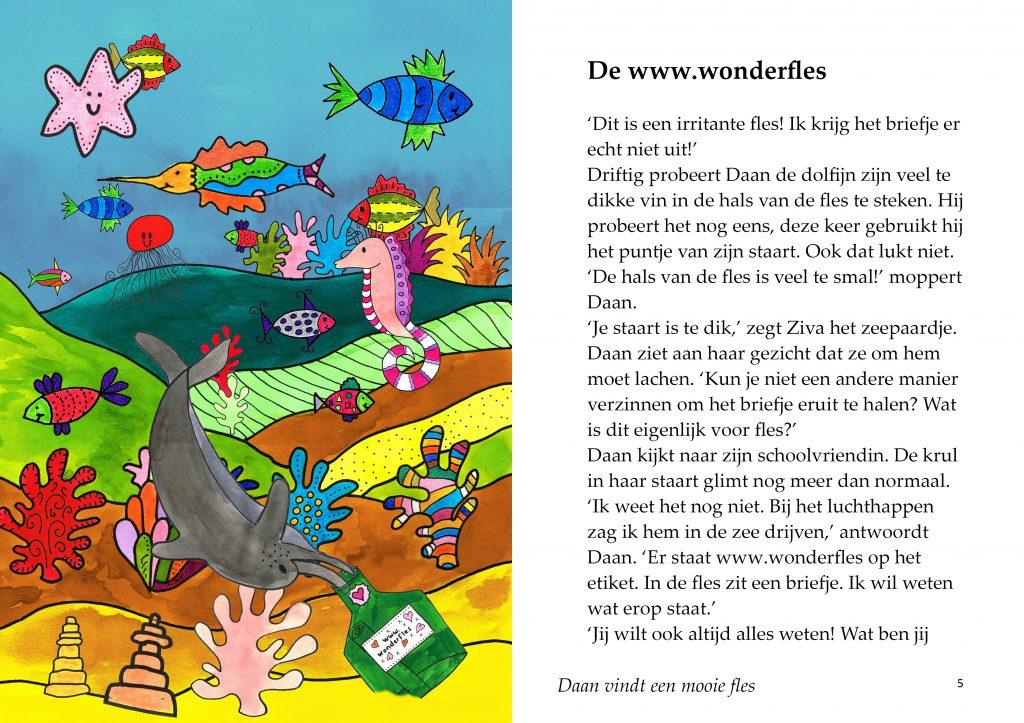 Dolfijn met sproeten - Esther van der Ham