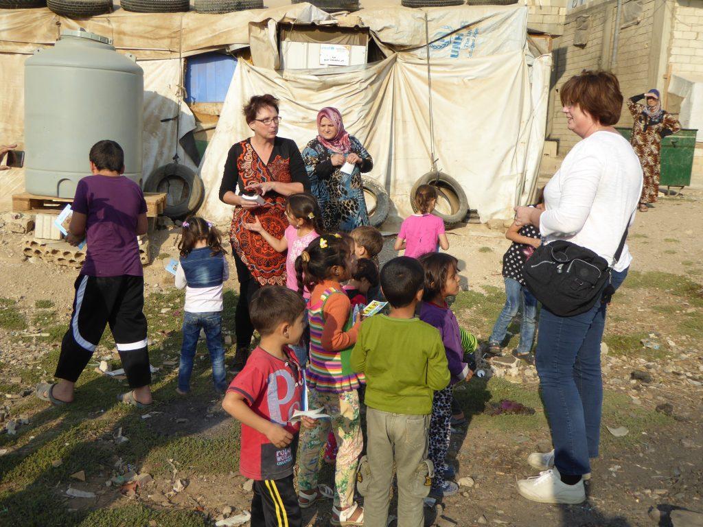 Vluchtelingenkamp Libanon