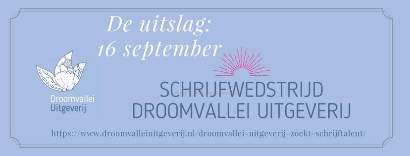 Uitslag schrijfwedstrijd Droomvallei Uitgeverij