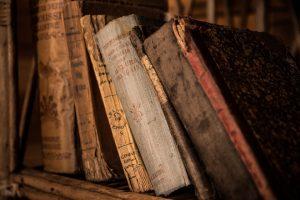 schrijfinspiratie: oude boeken