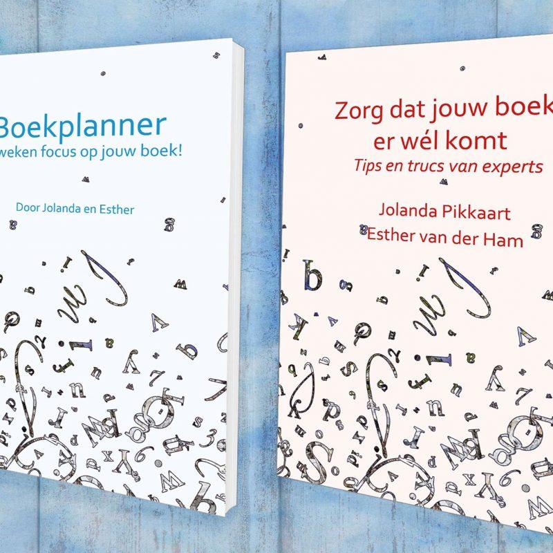 """Boekplanner en """"Zo komt jouw boek er wel"""""""