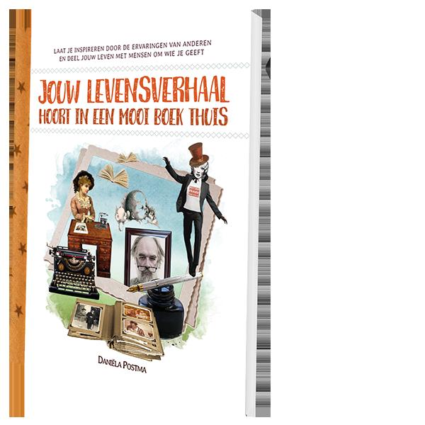 Jouw levensverhaal hoort in een mooi boek thuis - Daniëla Postma