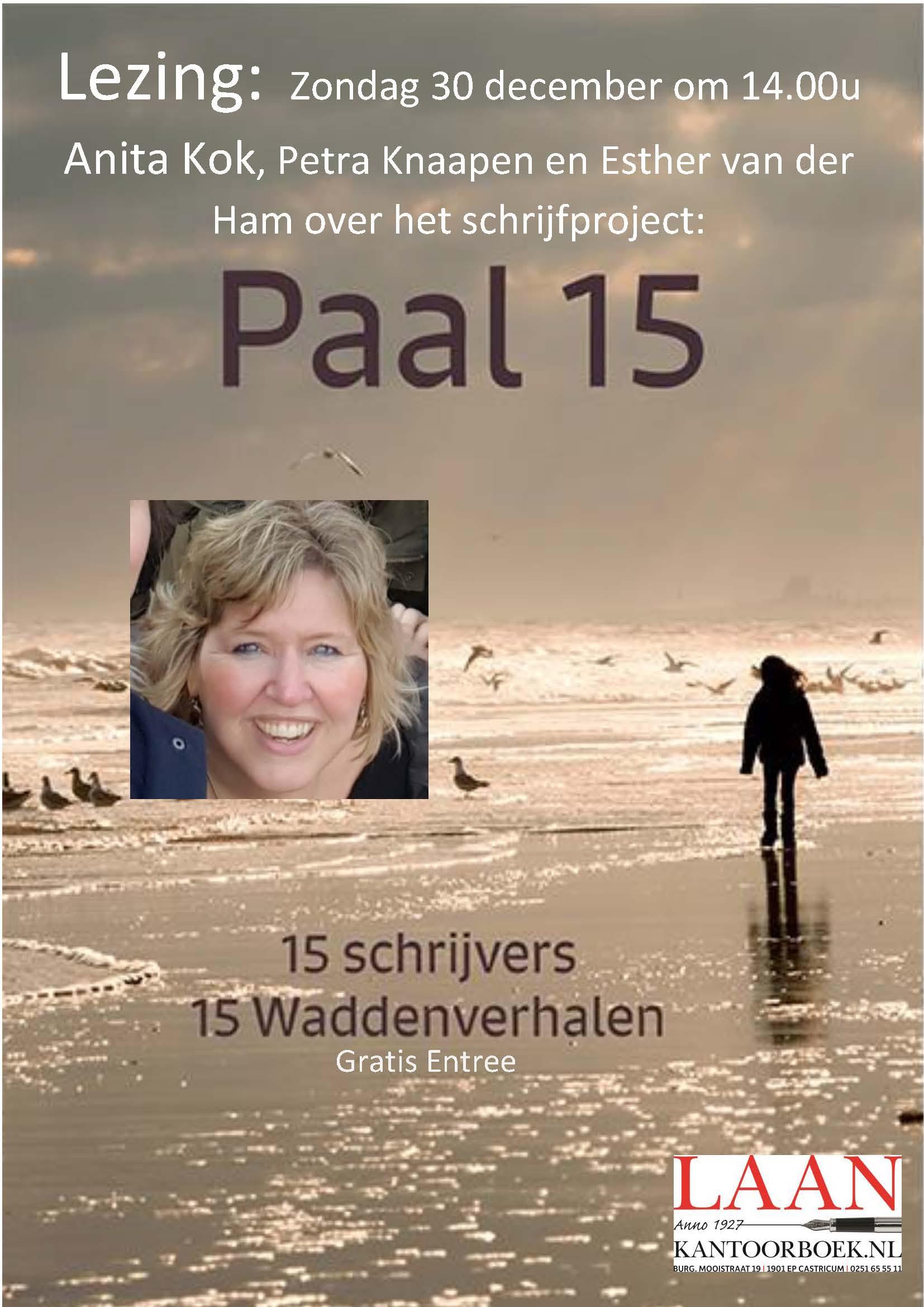 Lezing Waddenbundel Paal 15 30 december Castricum
