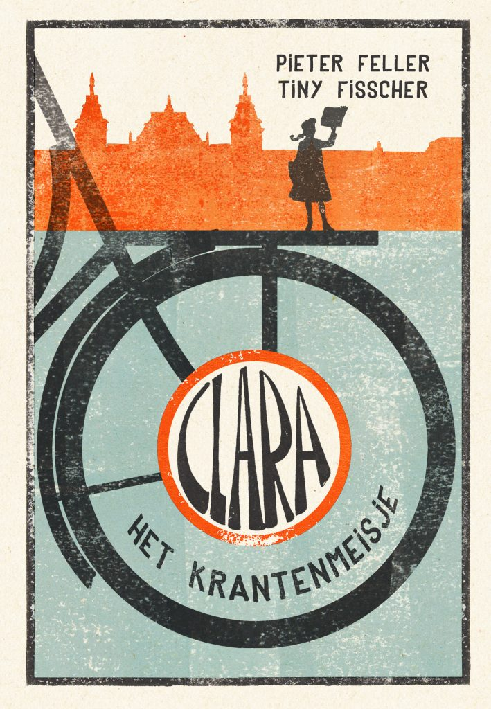 Clara het krantenmeisje door Pieter Feller en Tiny Fisscher