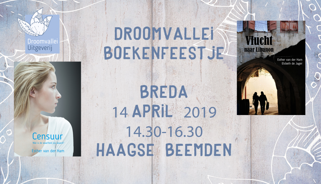 boekpresentatie 14 april 2019