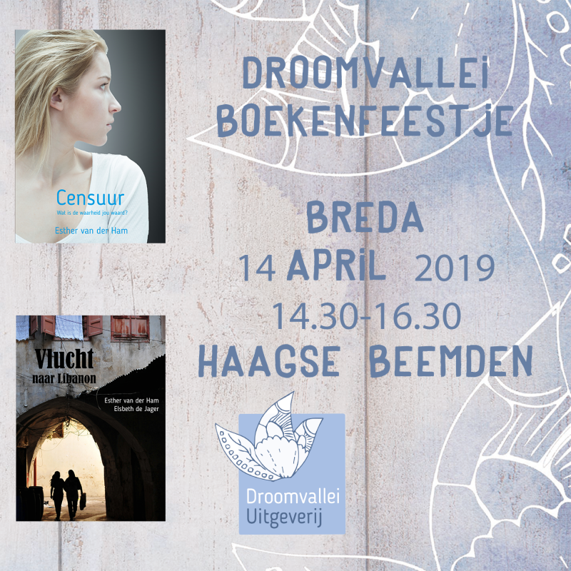 boekpresentatie 14 april 2019 Esther van der Ham en Elsbeth de Jager