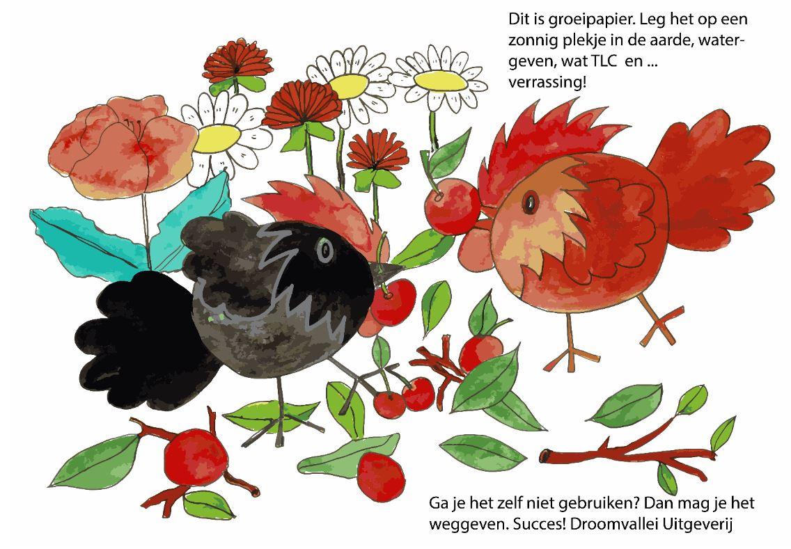 groeipapier droomvallei uitgeverij