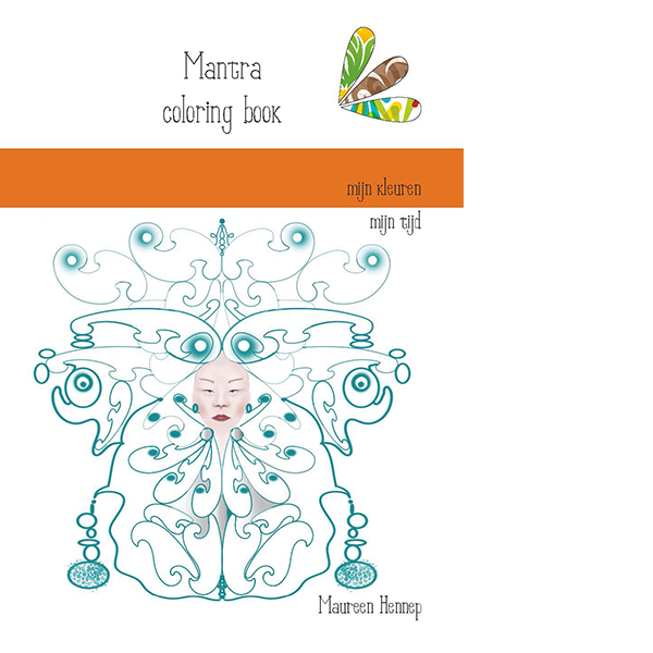 Mantra Coloring Book Maureen Hennep