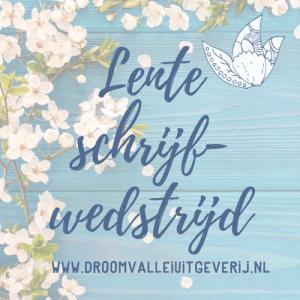 lenteschrijfwedstrijd droomvallei uitgeverij