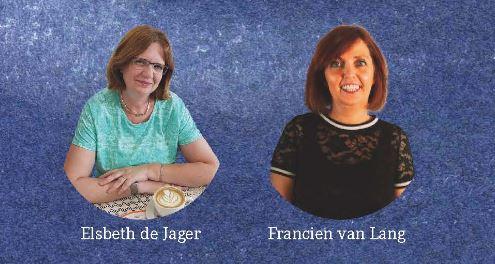 Elsbeth de Jager en Francien van Lang