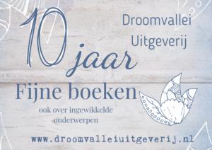 Droomvallei uitgeverij 10 jaar