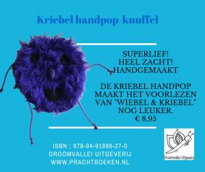 kriebel knuffel handpop