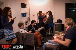 TEDx Breda achter de schermen
