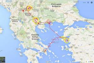 de reis naar de Balkan voor Jamil & Jamila deel 3