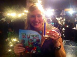 Mirjam Hildebrand schrijft beste kinderboek 2014